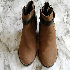 Franco Sarto never worn suede booties
